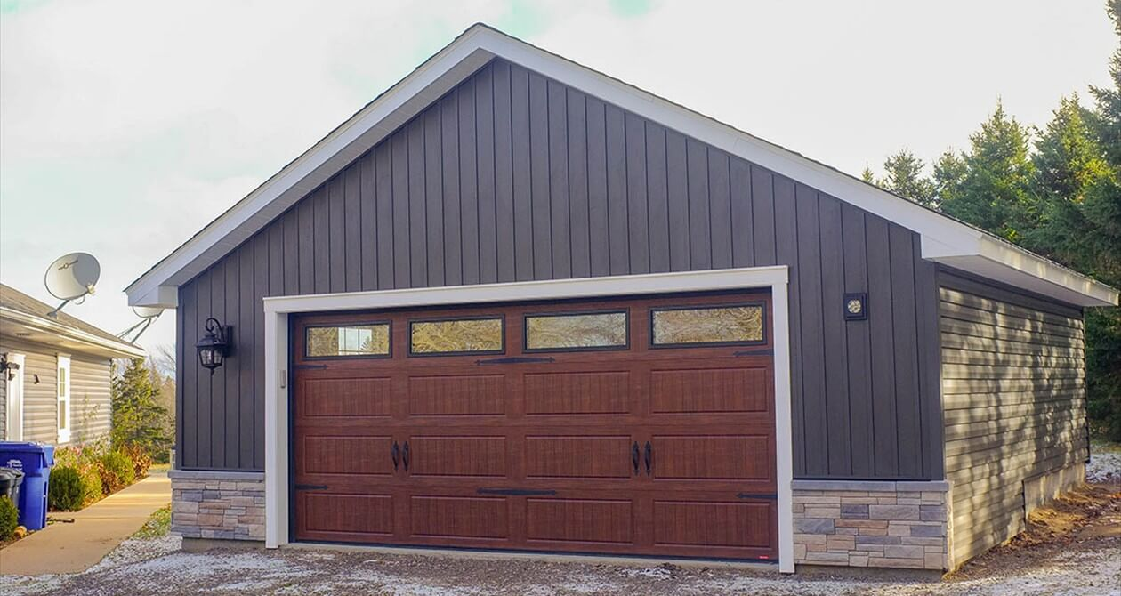 garage combo horse structures barns in three horizon pa packages monitor barn modular door
